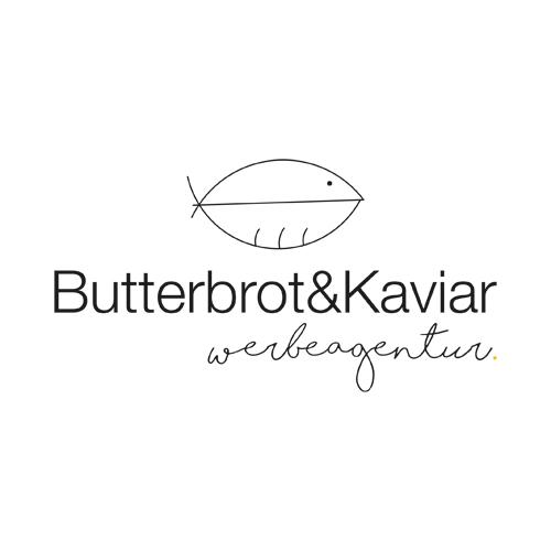 Butterbrot&Kaviar - Werbeagentur Logo